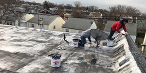 Attic Roof Leak Repair